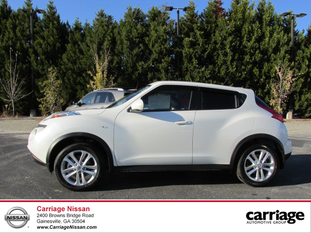 new 2014 nissan juke sl awd 5 dr wagon in gainesville n20888 carriage nissan. Black Bedroom Furniture Sets. Home Design Ideas